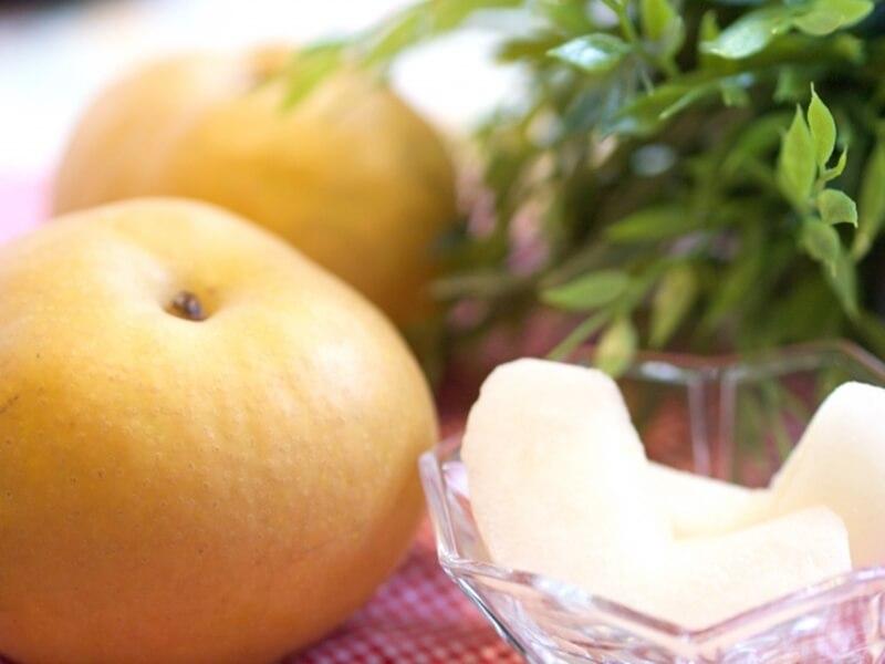 秋のアンチエイジング食材の梨