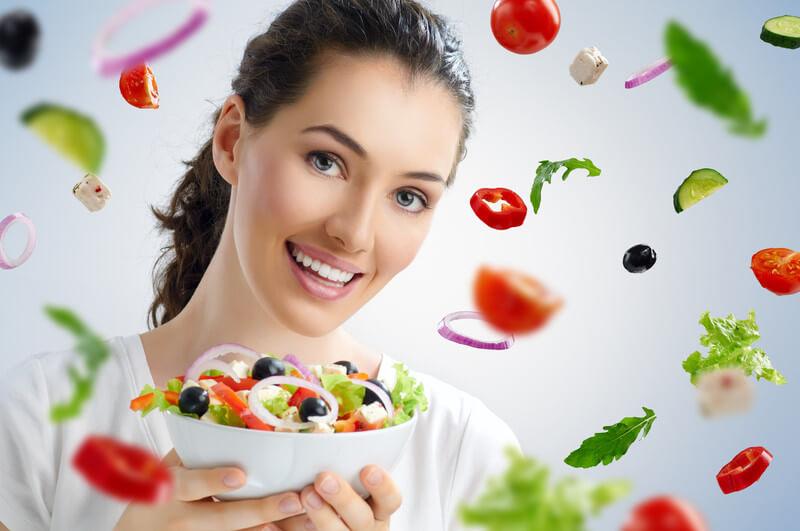 バストアップに効果的な食べ物や食事
