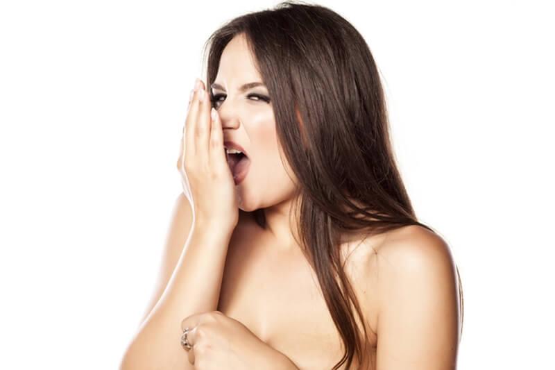 口臭のチェック方法