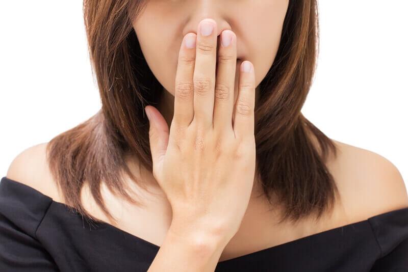 口臭は胃の病気が原因