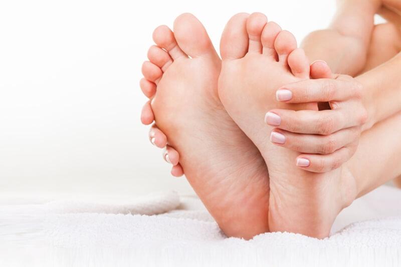足の裏の汗