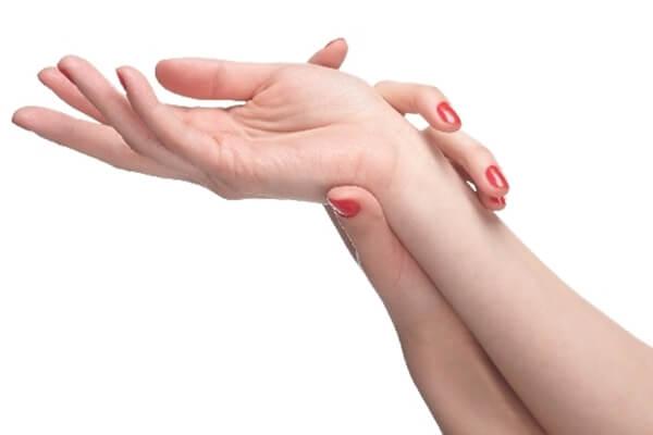 手のひらの汗対策