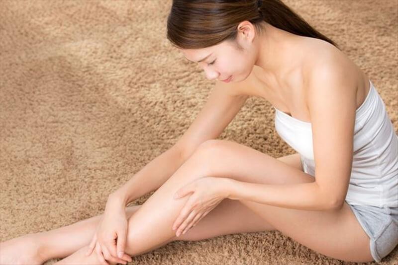 足のむくみ改善