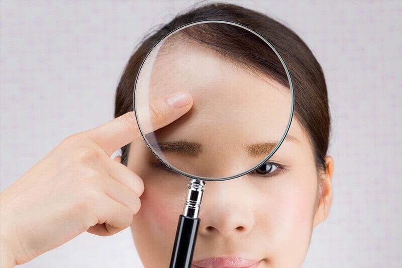 顔のテカリ防止